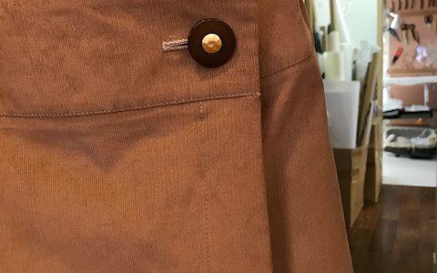 Mさんの巻きスカート