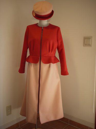 コートドレス桜