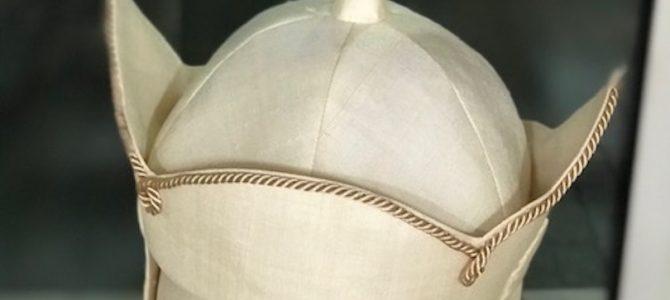 完成*三蔵法師の帽子